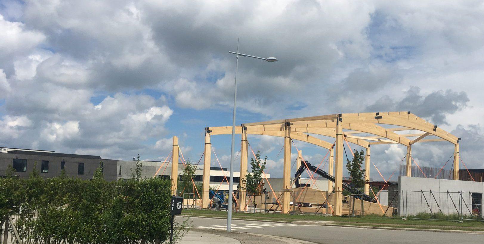 Timberframing s'équipe d'un nouveau hall industriel