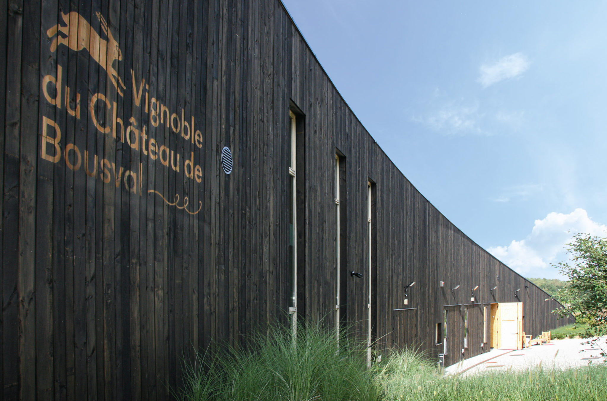 Le Chai – Vignoble du Château de Bousval, Brabant Wallon